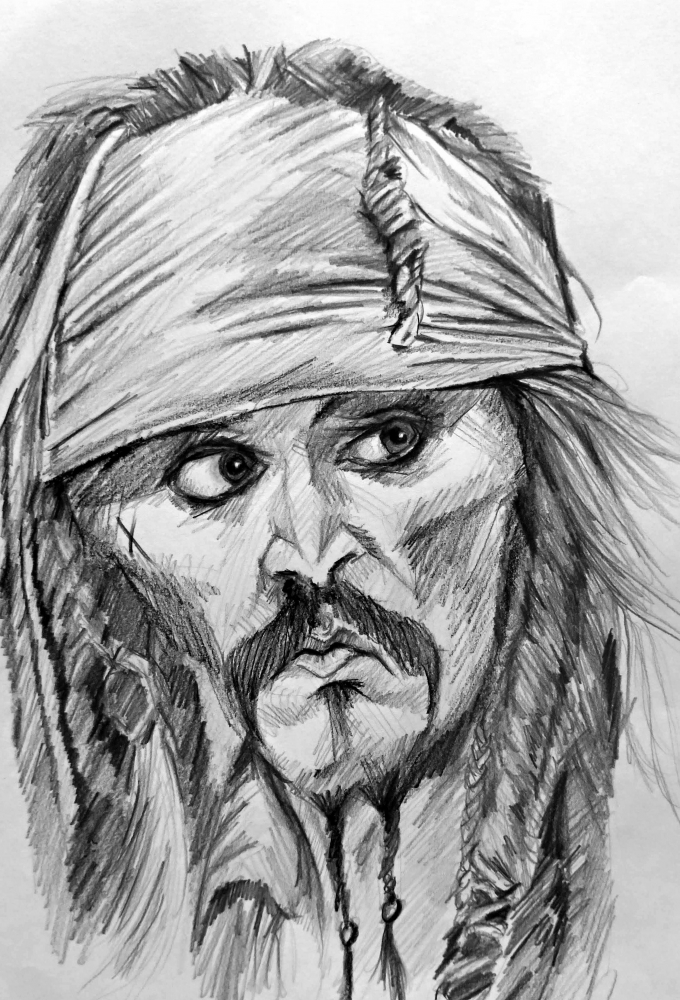 Johnny Depp par linshyhchyang